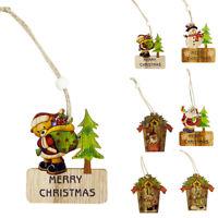 Eg _ Natale da Parete Etichetta Albero di Colorato Ornamenti Ciondolo Festa Casa