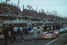 Arturo Merzario Firmato a Mano 12x8 FOTO FERRARI LE MANS 6.