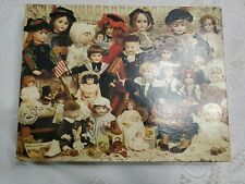 """Vintage Springbok """"The Doll Shop"""" 500 + Puzzle ALL COMPLETE"""