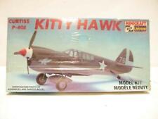 1:72 Hasegawa Curtiss P-40E Kitty Hawk Minicraft Scale Model Kit SEALED NOS