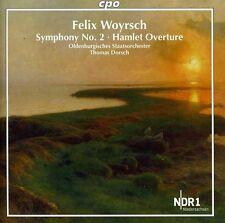 Thomas Dorsch - Symphony No. 2 / Hamlet Overture [New CD]