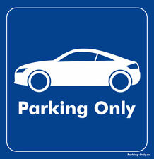 Parking Only - Audi TT 8J Coupe - Aufkleber