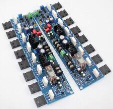 1pair E405 Tube Power Amplifier Board 300W AMP A1943/C5200 2SA1930/2SC5171