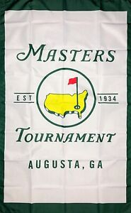 Masters PGA Flag 3x5 ft Banner Augusta National Golf Club Members Only Sports