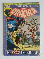 THE TOMB OF DRACULA #4 : THE BRIDE OF DRACULA!