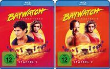Baywatch - Staffel 1 + 2, HD Remastered, 2 x 4 Blu-ray Disc NEU + OVP!
