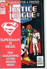 1993 JUSTICE LEAGUE AMERICA #70 Superman is Dead DC Comic Book