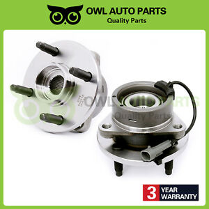 Front Wheel Bearing And Hub Assembly 4 Lug for Chevy Cobalt Saturn G5 Ion w/ABS