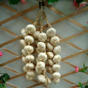 Artificial Onion Garlic - Plastic Vegetable Garlic Fake Vegetables Chili Potato