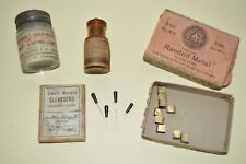 Vintage Dental Equipment Copper Randolf Metal Small Handle Cleansers etc