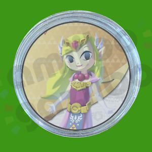 Toon Zelda   Amiibo COIN for The Legend of Zelda: The Wind Waker