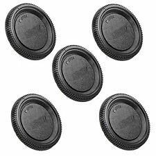 New 5Pcs Body Lens Cap for Nikon D3000 D3100 D3200 D5000 D5100 D80 D90 D300