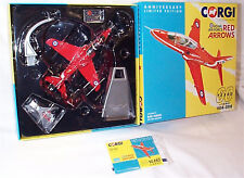 BAE Hawk RAF Red Arrows AA36012 1/72 Diecast Corgi 60th Anniv Ltd Edition New