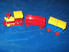 Lego Duplo Eisenbahn Schiebelok Lok Zug Güterwaggon Klappen Personenwaggon