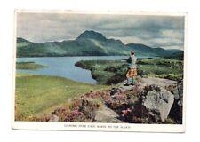 Scotland - Loch Maree Towards Slioch - Postcard Franked 1957