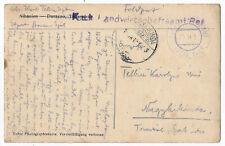 Albania 1917 Bazar Sjak rare Austria military post office Durazzo postcard
