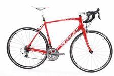 USED 2011 Specialized Tarmac Expert 58cm Ultegra Carbon Road Bike 2x10 Speed