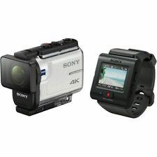 Sony FDRX3000RFDI.EU 4K Action Cam Camera with Fingergriff - White