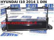 Mascherina installazione autoradio monitor gps 1 DIN Hyundai i10 dal 2014