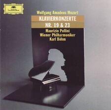 Mozart - Klavierkonzerte Nr. 19 & 23 (Pollini/Böhm) CD