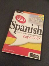 Teaching You Spanish - PC MAC CD ROM Language Learning Software Free Shipping!
