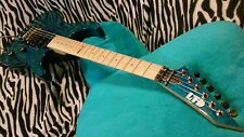 ESP LTD MH-103 QUILTED MAPLE ELECTRIC GUITAR (L@@K)