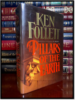 Pillars Of The Earth ✎SIGNED✎ by KEN FOLLETT N/M Hardback 1st Edition & Printing