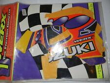Kit deco WERX pour Suzuki 125/250 rm 1996-98