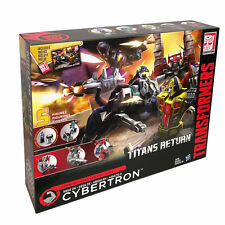 Transformers Titans Return SIEGE ON CYBERTRON 5 Figures Action Figure Collection
