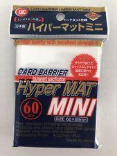 KMC Hyper MAT MINI - Yu-Gi-Oh! / Cardfight!! Vanguard – (60)- WHITE