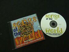 DARRYL COTTON SONGS OF THE WORLD RARE AUSTRALIAN CD! AUSTRALIAN YOUTH CHOIR