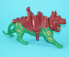 MOTU HE-MAN MASTERS OF THE UNIVERSE BATTLE CAT 100% COMPLETE TAIWAN COO MATTEL