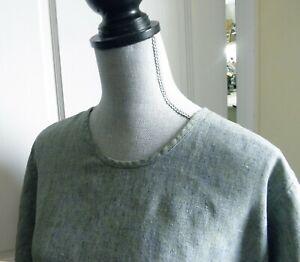 flax engelhart 1G  blue top short sleeve
