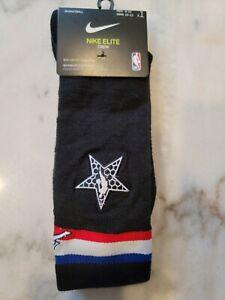 Nike Elite Crew Jordan 2019 NBA All Star Socks Black Basketball Jumpman
