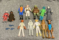 Vintage Kenner Star Wars Figures Lot - With Weapons/Blasters