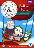 Sarah and Duck: Balloon Race and Other Stories DVD 2015 - New & Sealed