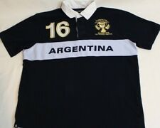 Kevingston The Authentic Rugby Argentina Mens Large Garroniers Polo Shirt