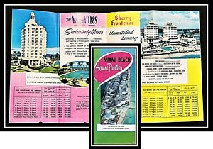Miami Beach House Parties 1954 South Beach Hotel Promotion 5 Hotels not in OCLC
