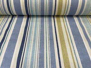 Edgerton Vintage Blue Fabric by Prestigious Textiles / Price Per Metre