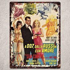 PP0252 Rust Vintage Movie Poster Sign Home Cafe Shop Movie Room Interior Decor