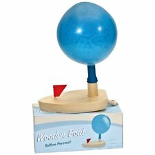 Balloon Powered Wooden Boat - Fun Tradtional Children's Toy