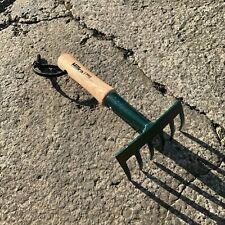 Hilka Pro Garden Garden 6 Tine Hand Rake - Mini, Pot, Border, Flower Bed