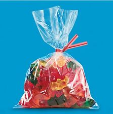 """100 Clear Plastic Poly Bags 10"""" x 14"""" Lightweight 1 mil  -FREE Ship USA"""