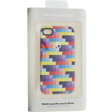 NEW SKULLCANDY TRACE LOW PROFILE iPHONE 4 PROTECTIVE HARDSHELL CASE MULTI COLOR