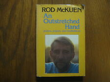 """ROD  McKUEN (Died-2015)Signed  Book(""""AN OUTSTRETCHED HAND""""-1980  First  Edition)"""