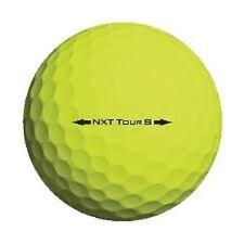 50 Titleist NXT Tour Yellow Mint Used Golf Balls AAAAA Free Tee's