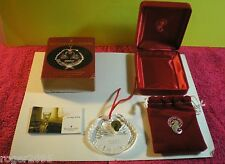 """Waterford Crystal - 2000 """"Our First Christmas"""" Lead Crystal Tree Ornament!"""