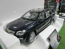 MERCEDES BENZ GL 500 de 2012 bleu foncé au 1/18 NOREV 183485 voiture miniature