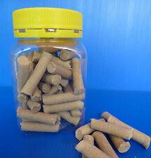 Beekeeping - smoker pellets - 50 pellets in jar - quick & easy fire starters