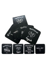 Official Motorhead - Logos - Boxed Cork Coaster Set